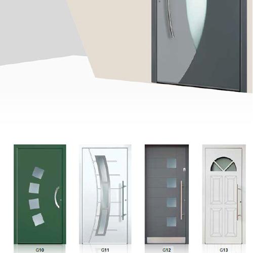 Portoncini d\'ingresso in Alluminio con taglio termico - Vendita e ...